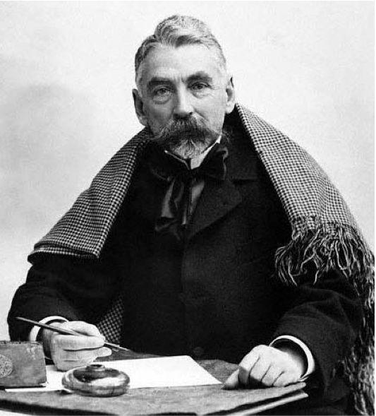 Stéphane Mallarmé (1842-1898). Photographie von Nadar
