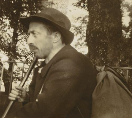Henri Roorda auf Wanderschaft
