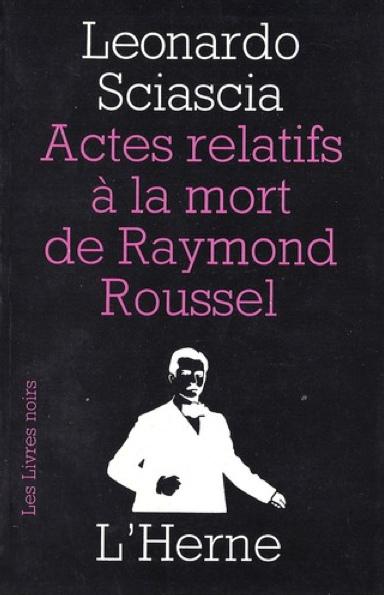 Der Tod des Raymond Roussel - Französische Ausgabe