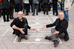 Rainer Wendling und Theo Bruns (Buchmesse 2013)