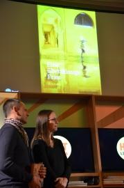 Verleger Gerdt Fehrle und Lektorin Nina Schiefelbein (Louisoder Verlag)