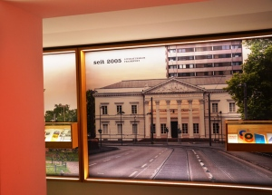 Der Ort der Hotlist-Preisverleihung – das Frankfurter Literaturhaus